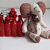 """Куклы и игрушки ручной работы. Ярмарка Мастеров - ручная работа Осенний слоник «all you need is love"""". Handmade."""