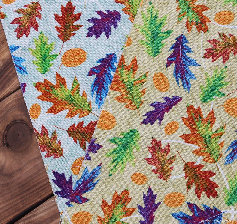 Ткань для пэчворка Autumn Hues (листья), Ткани, Санкт-Петербург,  Фото №1