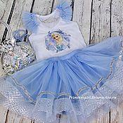 Одежда детская handmade. Livemaster - original item Costume Elsa frozen. Handmade.