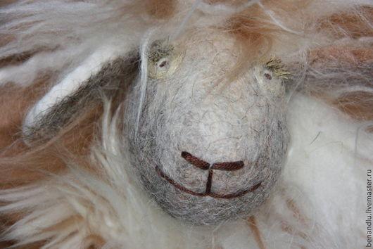 Игрушки животные, ручной работы. Ярмарка Мастеров - ручная работа. Купить Разноцветная музыкальная овечка (большая). Handmade. Овечка
