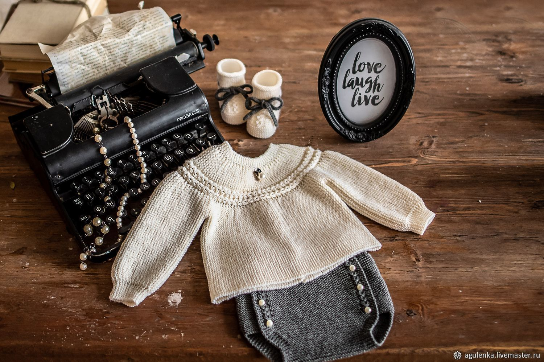 Стильный комплект с бусинами беби-Шанель, Комплекты одежды для малышей, Петрозаводск,  Фото №1