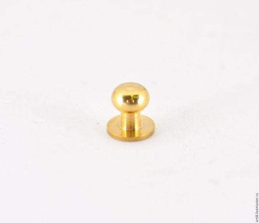 Другие виды рукоделия ручной работы. Ярмарка Мастеров - ручная работа. Купить Кобурная кнопка D8 желтая. Handmade.