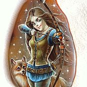 Украшения handmade. Livemaster - original item Girl-Archer. Handmade.