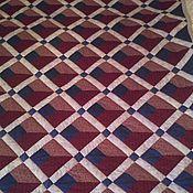 Для дома и интерьера ручной работы. Ярмарка Мастеров - ручная работа Лоскутное одеяло-плед Париж-винтаж. Handmade.