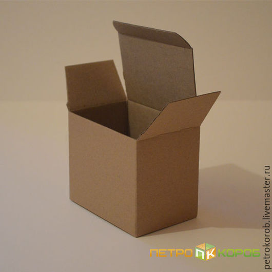 Упаковка ручной работы. Ярмарка Мастеров - ручная работа. Купить Самосборная коробка 013 (12х8х10). Handmade. Коричневый, недорогая упаковка