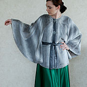 Одежда ручной работы. Ярмарка Мастеров - ручная работа Манто. Handmade.