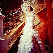 Свадебный салон handmade. Livemaster - original item Wedding dress with ruffles