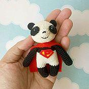 Куклы и игрушки ручной работы. Ярмарка Мастеров - ручная работа Супер Панда. Handmade.