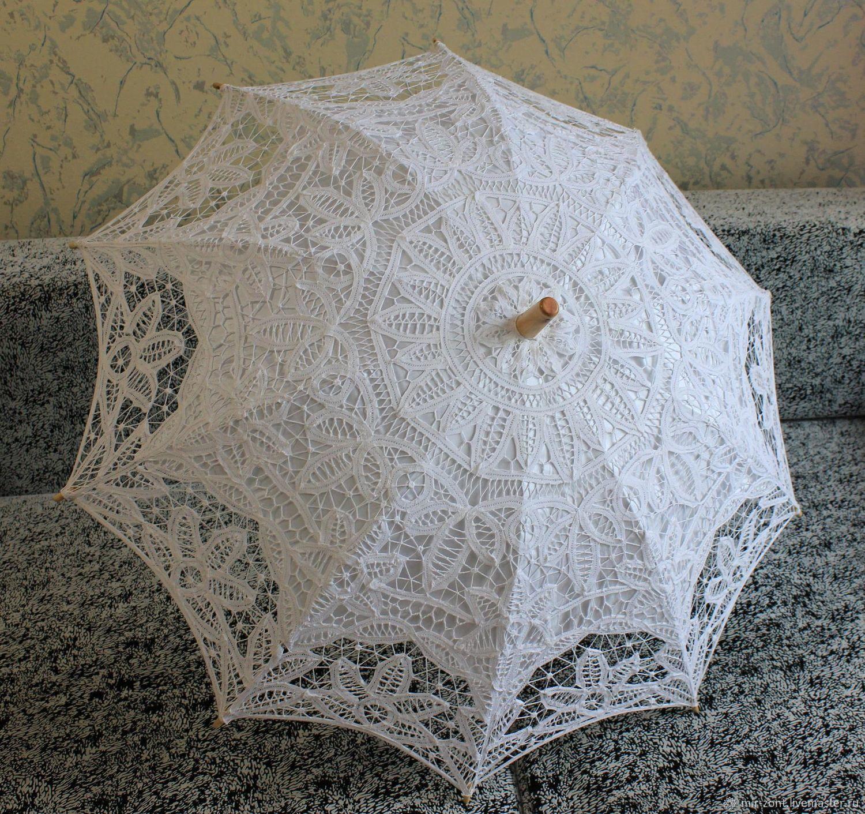 Кружевной зонт №8, Зонты, Волжский,  Фото №1