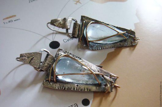 Серьги ручной работы. Ярмарка Мастеров - ручная работа. Купить СЕРЬГИ из серебра 925 в стиле бохо ЕГИПТЯНКА. Handmade.