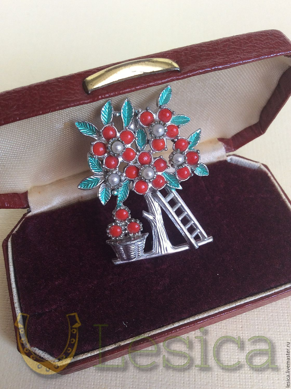 Collectable brooch Fruit tree England, Vintage brooches, Ramenskoye,  Фото №1