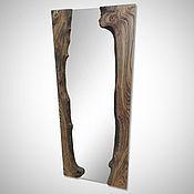 Для дома и интерьера handmade. Livemaster - original item Mirror of slabs of elm.. Handmade.