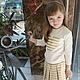 Одежда для девочек, ручной работы. Детский костюм пышная юбка и свитшот с сердечком. San Sarafan. Ярмарка Мастеров. Юбка пачка