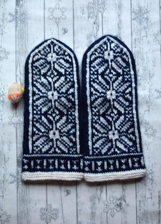 """Варежки, митенки, перчатки ручной работы. Ярмарка Мастеров - ручная работа. Купить Варежки """" Северная Двина """".. Handmade."""
