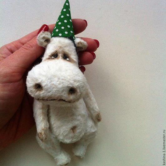 Мишки Тедди ручной работы. Ярмарка Мастеров - ручная работа. Купить Белый бегемот. Handmade. Белый, тедди, вискоза