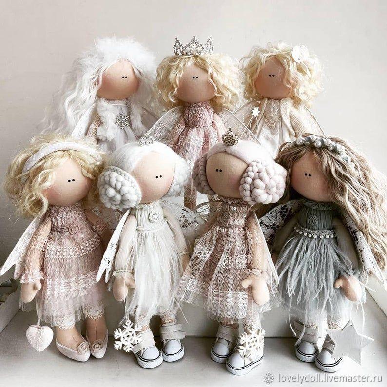 Dolls and dolls: Angel Textile Doll Handmade, Dolls, Kiev,  Фото №1