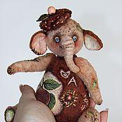 """Куклы и игрушки ручной работы. Ярмарка Мастеров - ручная работа Розовый слон """" APPLE"""". Handmade."""
