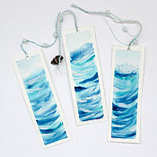 Канцелярские товары handmade. Livemaster - original item Watercolor bookmark
