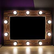 Для дома и интерьера ручной работы. Ярмарка Мастеров - ручная работа Гримерное зеркало Brown Mahogany Forest MAAK Magic`s. Handmade.