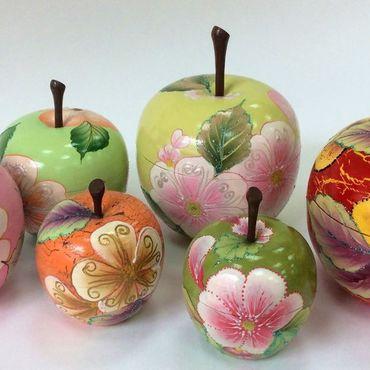 """Для дома и интерьера ручной работы. Ярмарка Мастеров - ручная работа Шкатулки """" Молодильные яблочки"""". Handmade."""