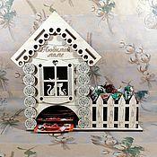 Чайные домики ручной работы. Ярмарка Мастеров - ручная работа Чайные домики с конфетницами. Handmade.