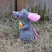 Куклы и игрушки handmade. Livemaster - original item The Rat Thomas .Repeat. ( a toy made of wool).. Handmade.