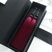 Украшения handmade. Livemaster - original item Earrings tassel