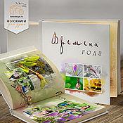 Дизайн и реклама ручной работы. Ярмарка Мастеров - ручная работа Шаблон фотокниги «Времена года». Handmade.