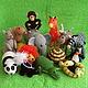"""Игрушки животные, ручной работы. Ярмарка Мастеров - ручная работа. Купить Набор вязаных игрушек """"Зоопарк"""". Handmade. Слон, зебра"""