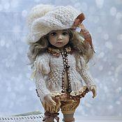 Куклы и игрушки handmade. Livemaster - original item Clothes for Little Darling ( Dianna Effner) dolls/ beige clothes. Handmade.