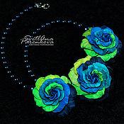 Украшения handmade. Livemaster - original item Color necklace (102) author`s handmade. Handmade.
