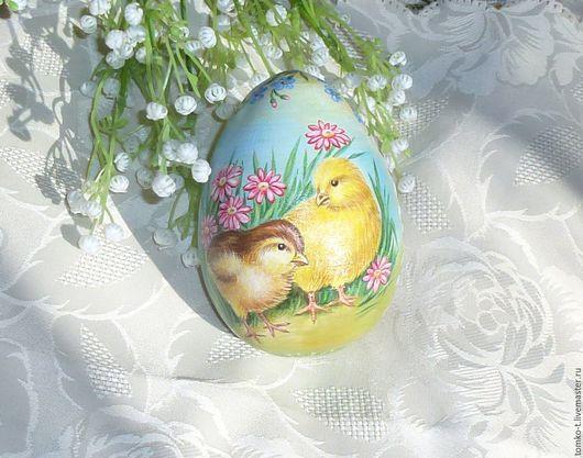 Подарки на Пасху ручной работы. Ярмарка Мастеров - ручная работа. Купить Весна. Начало. Handmade. Яйцо расписное, декоративное яйцо