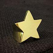 """Украшения ручной работы. Ярмарка Мастеров - ручная работа Кольцо """"Estrella"""" 750 золото. Handmade."""