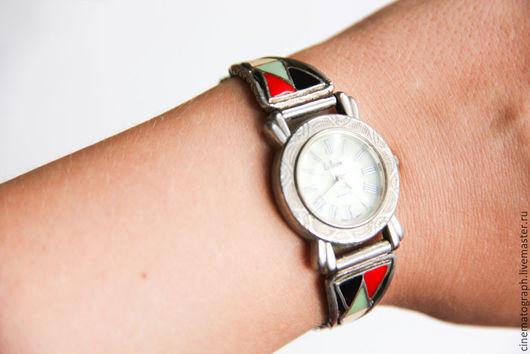 Винтажные украшения. Ярмарка Мастеров - ручная работа. Купить Часы Collezio винтаж Италия эмаль. Handmade. Комбинированный, винтаж, сталь