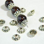 Материалы для творчества handmade. Livemaster - original item Beanies for beads. 10 pieces. Handmade.