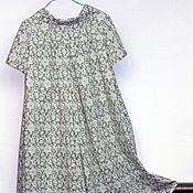 """Одежда ручной работы. Ярмарка Мастеров - ручная работа Платье-кюлот """"Озорные 60-е""""  малахит. Handmade."""