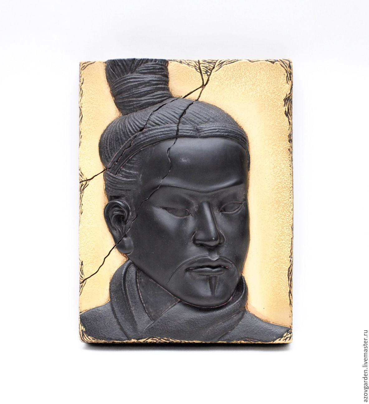 Interior Masks handmade. Livemaster - handmade. Buy Panels of concrete, the Chinese Warrior gift man on February 23.