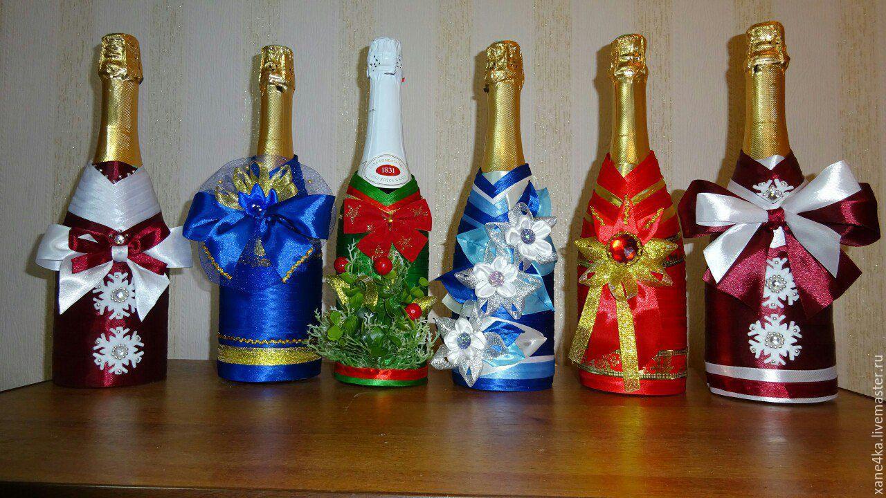 Красивая шампанское своими руками 939