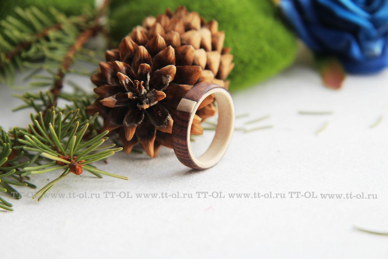 Кольца ручной работы. Ярмарка Мастеров - ручная работа. Купить Деревянное кольцо DMV002. Handmade. Свадьба, деревянные кольца