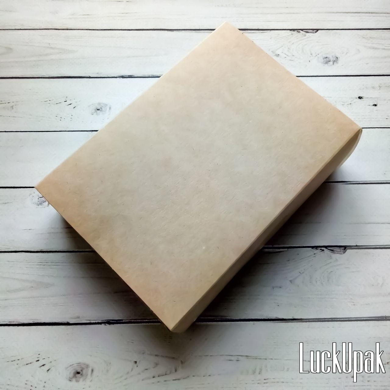 Упаковка ручной работы. Ярмарка Мастеров - ручная работа. Купить Коробка ЭКО 16,5/11,5/4 см с откидной крышкой, Крафт. Handmade.