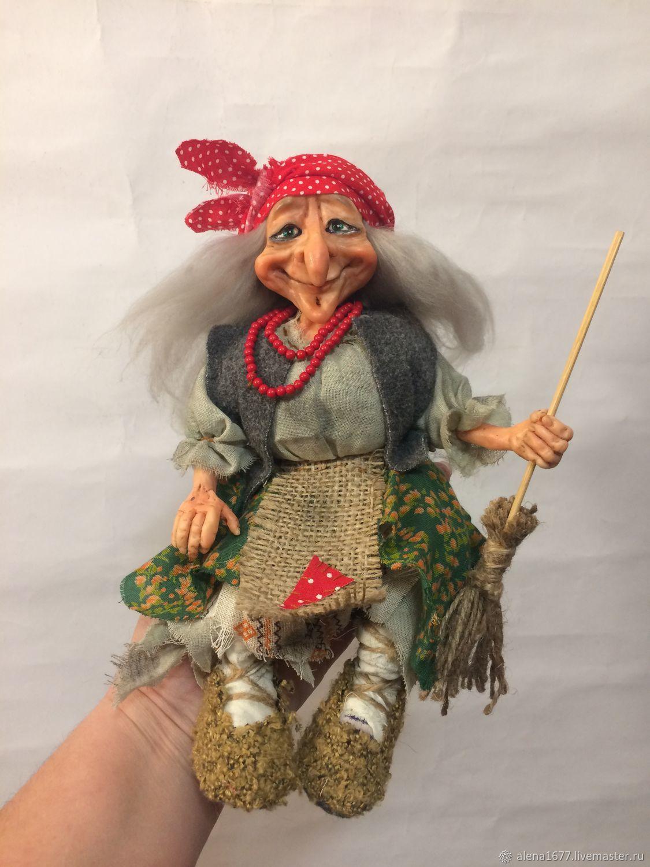 Баба Яга, Народная кукла, Запорожье,  Фото №1