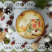 """Для дома и интерьера ручной работы. Ярмарка Мастеров - ручная работа Шкатулка """"Чайная"""". Handmade."""