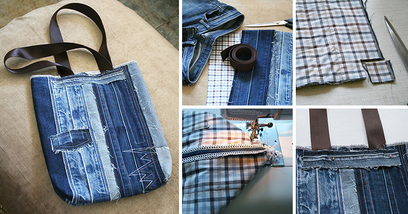 Строительный пояс своими руками из джинса 26