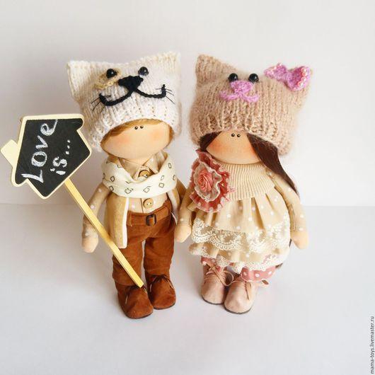 Коллекционные куклы ручной работы. Ярмарка Мастеров - ручная работа. Купить Love is.... Handmade. Интерьерная кукла, Снежка, пупс