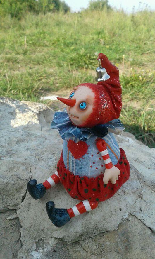 Человечки ручной работы. Ярмарка Мастеров - ручная работа. Купить Снеговик. Авторская кукла.. Handmade. Снеговик, авторская кукла, пластика