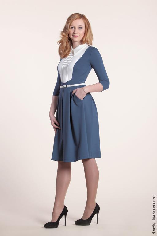 платье с воротником и пуговицами платье до колена платье по фигуре платье облегающее платье на весну платье на осень платье на зиму платье женское платье повседневное платье до колена платье миди плат