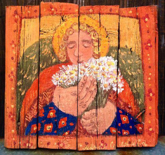 """Персональные подарки ручной работы. Ярмарка Мастеров - ручная работа. Купить """"Маленький Желтый ангел"""". Handmade. Оранжевый"""