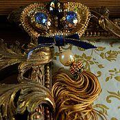 Украшения ручной работы. Ярмарка Мастеров - ручная работа Брошь Golden Crown. Handmade.