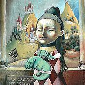 """Картины и панно ручной работы. Ярмарка Мастеров - ручная работа Картина """"Вырастить своего Дракона"""". Handmade."""