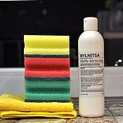 Для дома и интерьера handmade. Livemaster - original item Ultra-pure gel for surfaces in need of enhanced cleansing. Handmade.